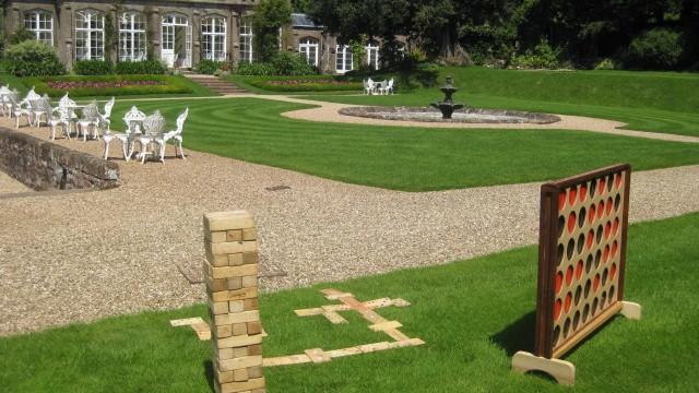 St Audries Park Garden Games