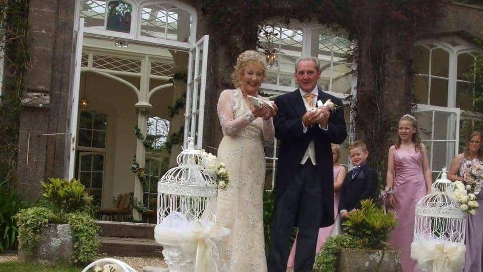 St Audries Park Dove Release Lovey Dovey