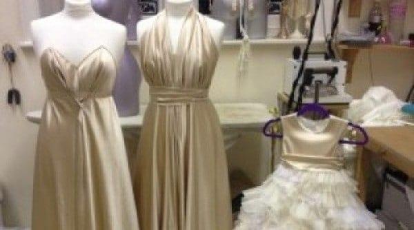 St Audries Park - bridesmaid dress design