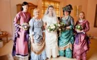 St Audries Park - Victorian wedding