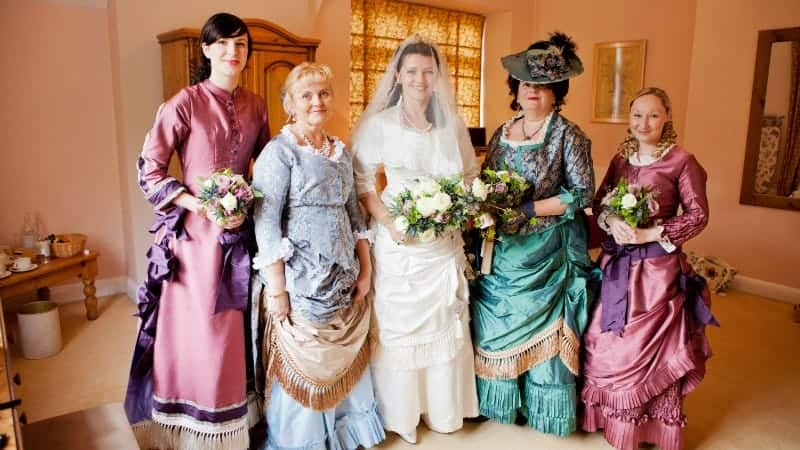 St Audries Park - Victorian wedding