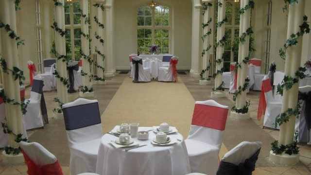St Audries Park - Afternoon Tea in the Orangery