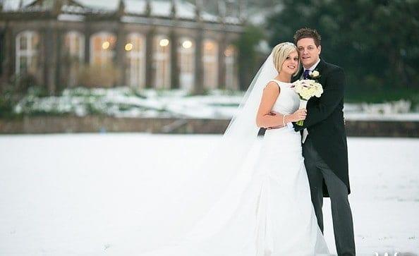 St Audries Park - Winter wedding
