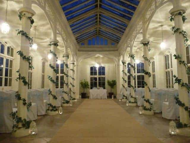 St Audries Park - Orangery at night