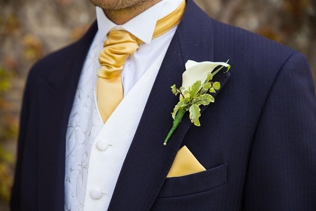 A grooms buttonhole