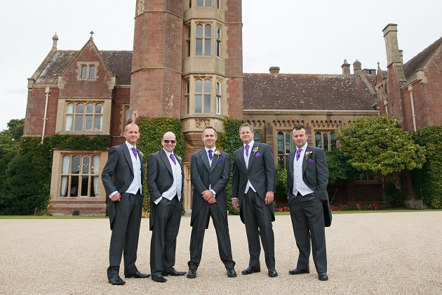 Groomsmen at St Audries