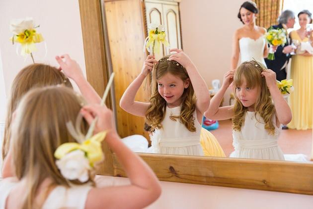 Young bridesmaids