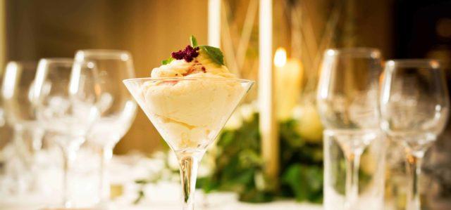 dessert glass