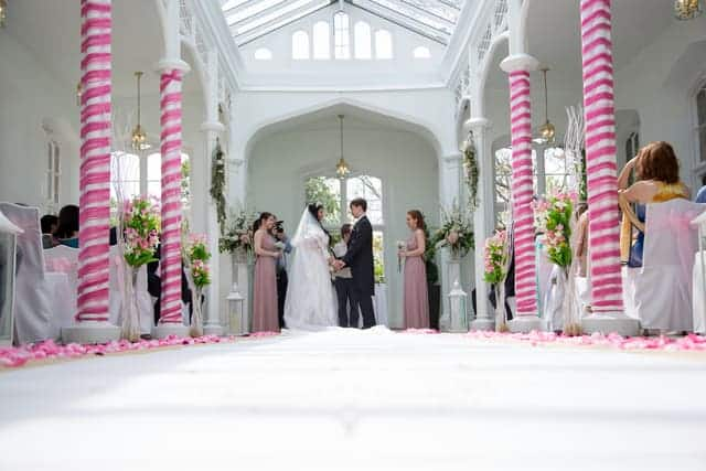 Orangery Ceremony Shot Isle