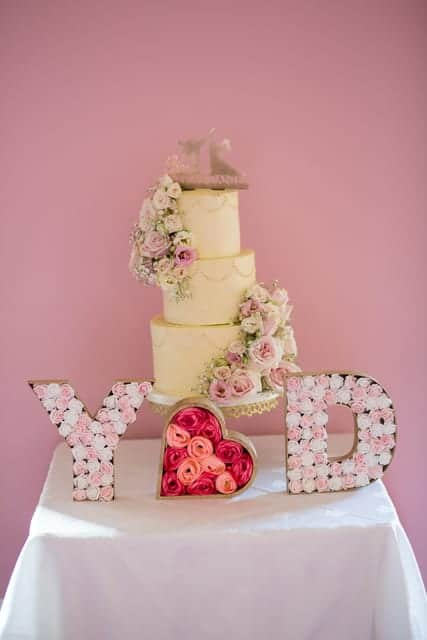 Cake Decorative Y&D Flowers